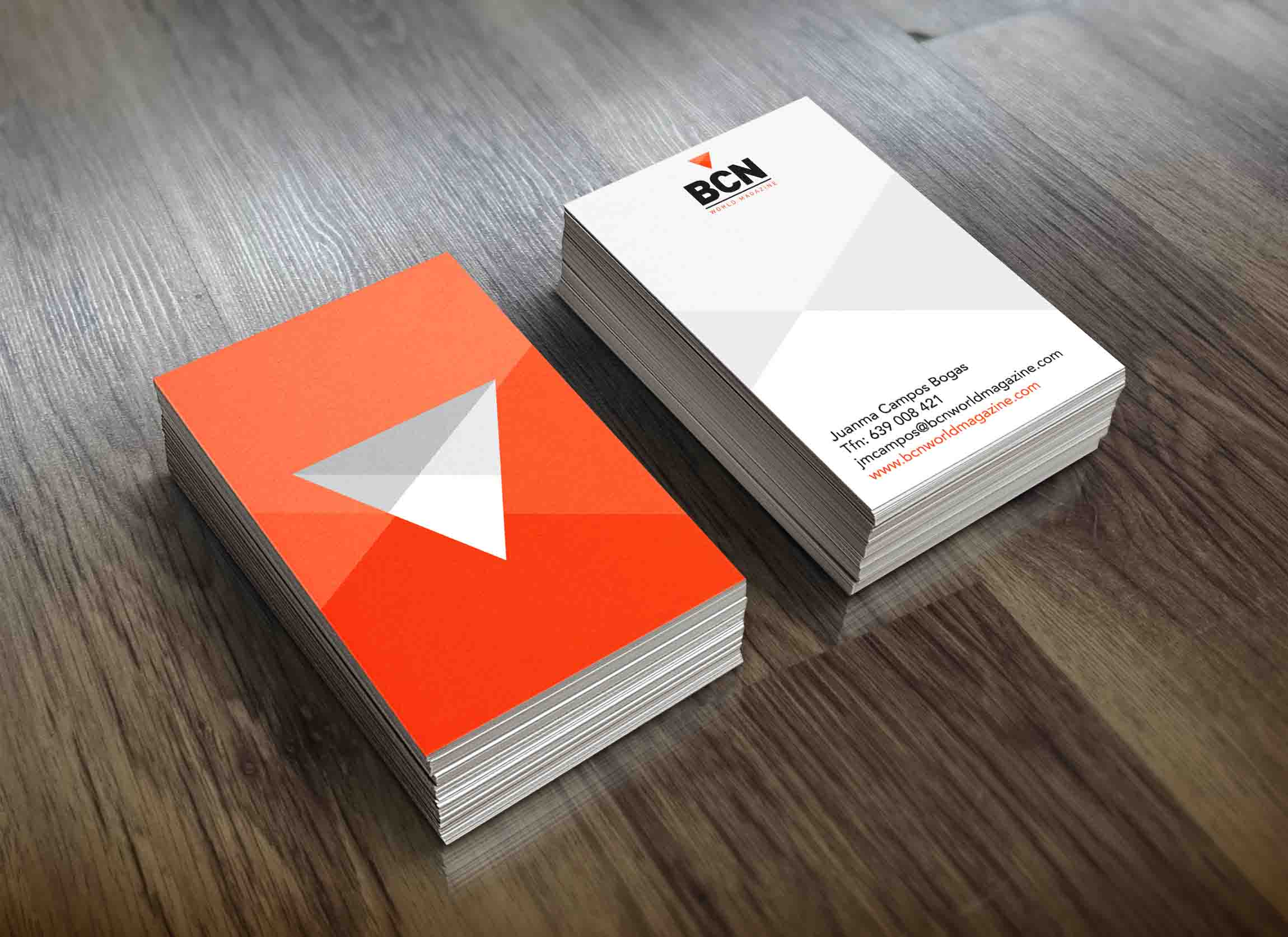 Examples business cards - Bcnwm
