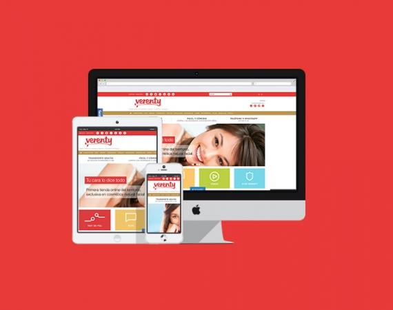 Diseño web Tienda Cosmética Natural