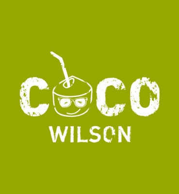 Logo design for a coconut drink company