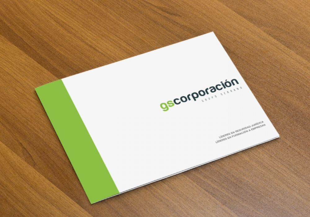 Catalogue for a company that provides consulting, legal and training services