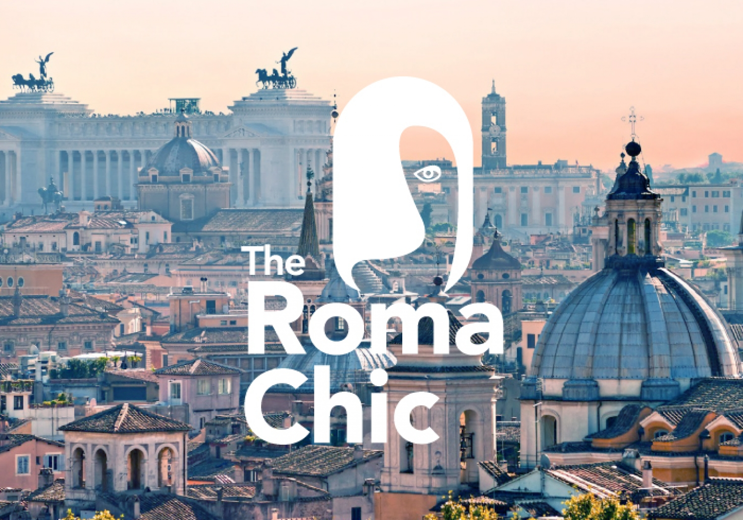 Logo design for a lifestyle blog in Rome