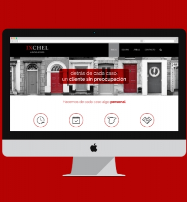 Web design for a law firm in Madrid
