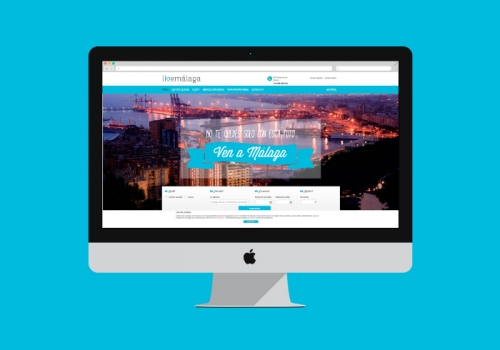 Web design for an apartment rental company