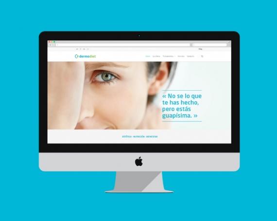 Web design for aesthetic medicine