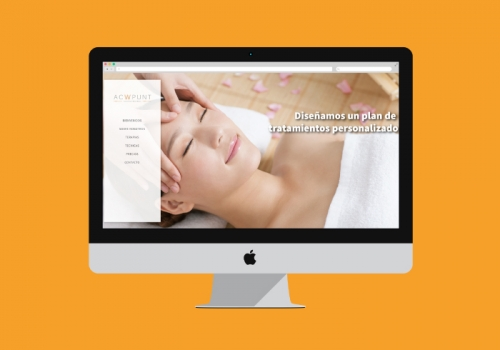 Web design for an acupuncture clinic
