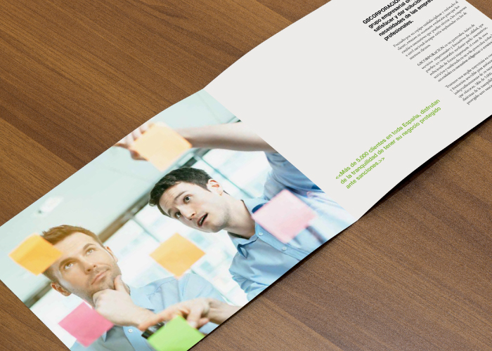 Catalogue design for a company that specialises in consulting, law and training