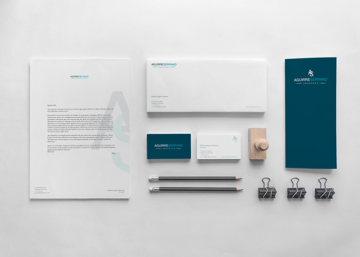 Identity design for a legal company