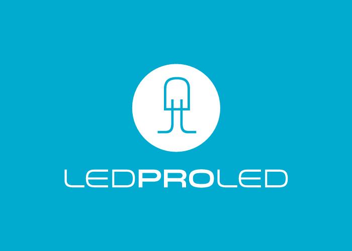 Logo design for a company dedicated to LED illumination