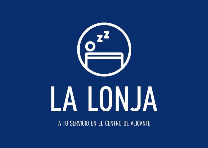 Logo design for a hostal in Alicante