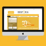 Habitania web design for an estate agency