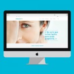 Web design and development for an aesthetic medicine company