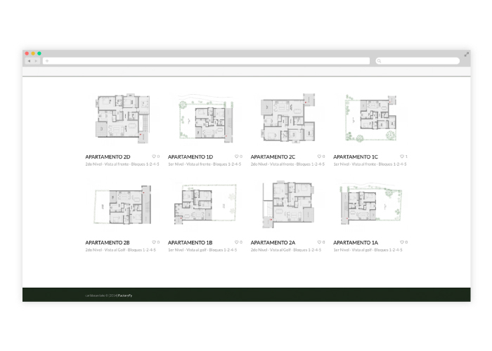 Website design for property in the Caribbean